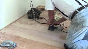 hardwood floors sanding out scratches