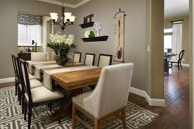 Dining Room Alluring Country Wall Decor Ideas The
