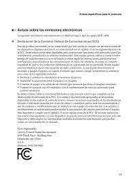 avisos sobre las emisiones electrónicas lenovo yoga 11 notebook ideapad manual del usuario página 13 19