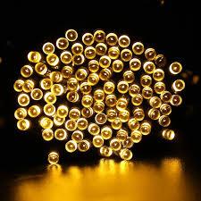 qedertek 2 pack solar lights outdoor 72ft 200 led solar string lights 8 modes solar lights