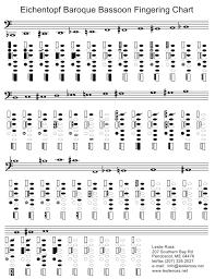 Eichentopf Baroque Bassoon Fingering Chart Download