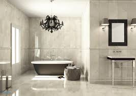 bathroom chandelier elegant luxury bathroom with chandelier over tub my future home