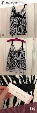 Bathing Suit Top Maternity Bathing Suit Top Zebra Print