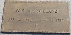 Alcy Avis Grubbs Holland (1912-1983) - Find A Grave Memorial