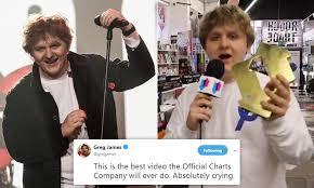 Scottish Album Charts Singer Lewis Capaldi Shares Expletive Ridden Rant After His