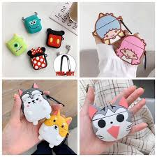 For AirPods Pro Case <b>3D Funny Frog</b> Cute Pig Dog Lion Earphone ...