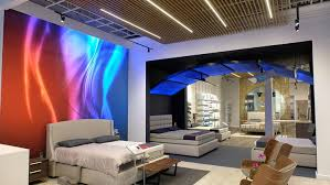 sleep number s new york designed to show off the company s interactive technology in a