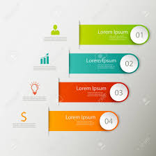 Modern Charts And Graphs Modern Business Steps To Success Charts And Graphs Options Banner