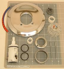 eljer scald guard tub and shower faucet trim kit with cartridge