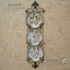 decorating ideas fantastic wall decoration for living room areas hanging plates