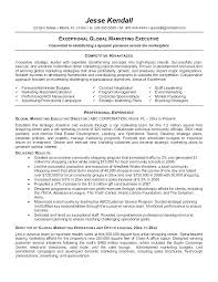 Marketing Resume Sample Sales Marketing Resume Template Sales And ...
