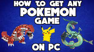 How To Get ANY Nintendo DS POKEMON Game For PC!! - YouTube