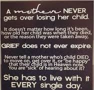 Quotes About Losing A Child the strongest person in the world is a grieving mother that wakes up 72