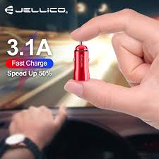 Jellico <b>18W 3.1A Car Charger</b> Quick Charge 3.0 Universal Dual ...