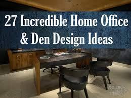 Design A Home Office Magnificent Den Office Ideas Laeti