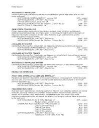 Resume For Lifeguard Sample Resume Lifeguard Resume Com Lifeguard