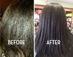 keratin hair relaxer 4 step kit