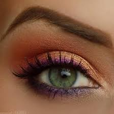 beautiful eye makeup pics pink gold eye makeup look