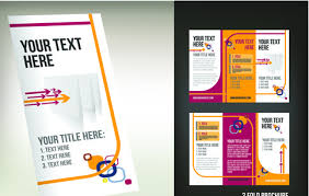 2 Folded Brochure Template Tri Fold Brochure Free Vector Download 3 060 Free Vector