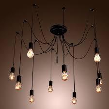 chandelier wiring kit home depot new lighting vintage retro edison bulb chandelier artist pendant lamp