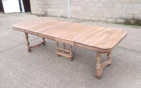 french antique dining table large 3 metre french walnut extending dining table on trestle base