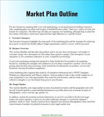 Free Simple Marketing Plan Template And Strategy Brief Outline