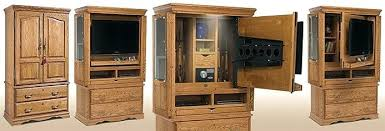 hide tv furniture. Furniture To Hide Tv In Hidden A That Doubles As Gun Cabinet . E