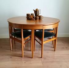 Retro Style Kitchen Table Vintage Retro Mid Century 60s Teak Hans Olsen Style Dining Table 4