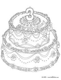 Coloring Pages Coloring Pagesday Cake Sheet Phenomenal Picture