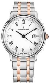 Наручные <b>часы claude bernard</b> 54005-357RMBR — купить по ...