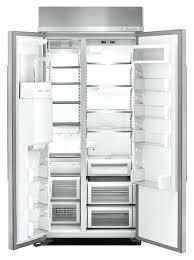 cu ft inch width built in side by kitchenaid fridge refrigerator leaking water