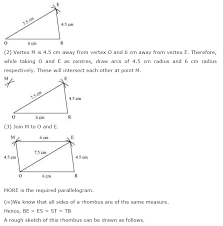 NCERT Solutions for Class 8th Maths Chapter 4 Practical Geometry ...