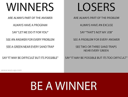 Winner Quotes Simple Winners Vs Losers Quote Quotes