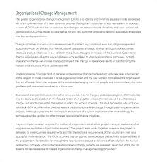 Impact Assessment Template 5 Analysis Example Software Change ...