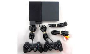 sony playstation 2 slim. sony playstation 2 slim console scph90002 - black