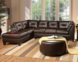 san marino chocolate sectional sofa