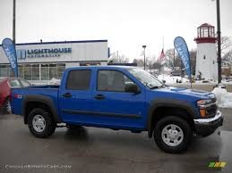 2007 Chevrolet Colorado LT Crew Cab 4x4 in Pace Blue - 250521 ...