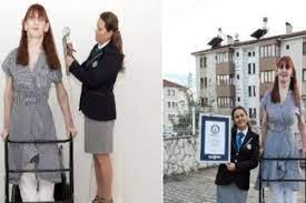 Meet 24-year-old Rumeysa Gelgi from Turkey, the world's tallest woman
