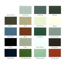 Standing Seam Roof Color Chart Fabral Metal Roof Colors Laserprint3d Co