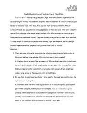crash movie and social justice essay this is my second time  2 pages reading journal example 12
