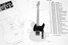 fender squier telecaster 268502 1984 parts list photo close fender squier telecaster 268502 1984 parts list photo close up of bridge and wiring diagram