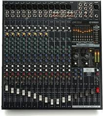 yamaha mixer. yamaha emx5016cf 16-channel 1000w powered mixer image 1 m