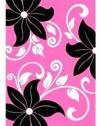 casual pink and black rug u2480239 pink black white rugs