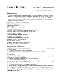 High School Student Resume Examples Amazing College Resume Template For Highschool Students Resume Examples