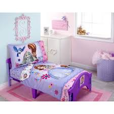 Sofia The First Bedroom Furniture Sofia Friends Are Magic 4 Piece Toddler Bedding Set Walmartcom