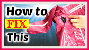 how to invisibly fix and repair an open jacket seam from within secret crush on glam you