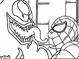 Small Picture Venom Coloring Pages avedasensescom