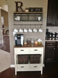 Cool Small Kitchen Chic Coffee Station In Kitchen Cool Small Kitchen Remodeling