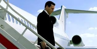 first mad men season 7 promo shows don stepping off a flight