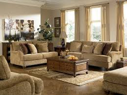 retro living room furniture. Fascinating Living Room Designs In Vintage Style : Ashley Stansberry Design With Light Brown Motif Sectional Sofa And Retro Furniture U